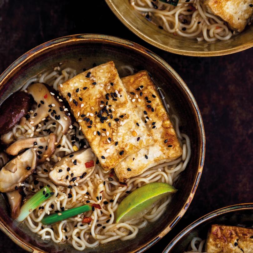 vegan east recept rode curry ramen