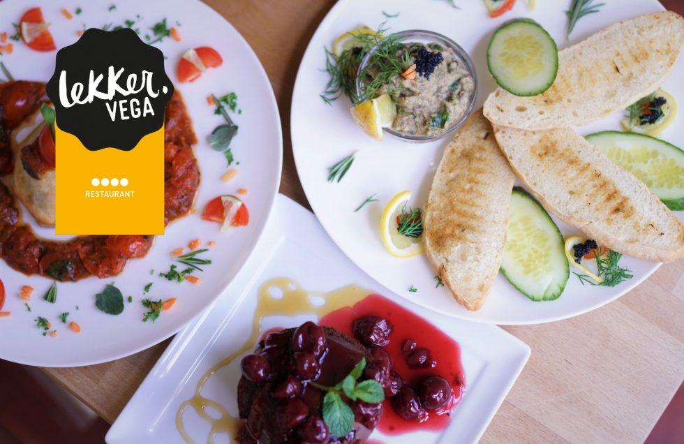 Gouden LEKKER VEGA restaurant Veggies on Fire wint belangrijke duurzaamheidsprijs!