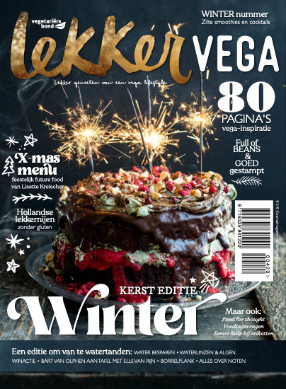 Lekker Vega Magazine Winter Kerst editie