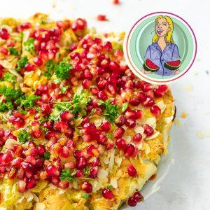 vegan bloemkooltaart kerst recept allerhande lekker vega