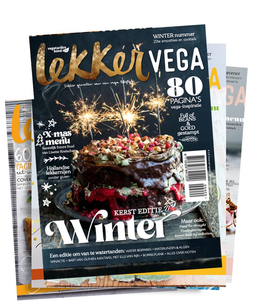 bestel Lekker Vega Magazine online