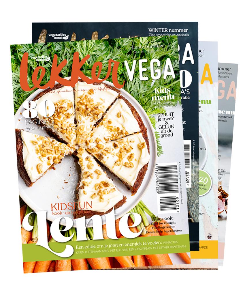 lekker vega magazine