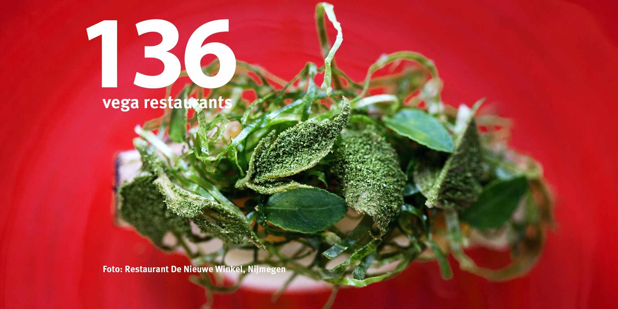 vega en vegan hotspots en restaurants op Lekker Vega